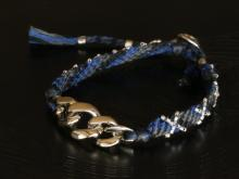 Good luck Bracelet_blue
