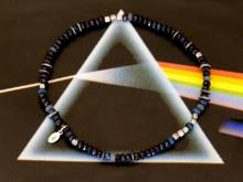 Color Quartz Anklet -Shadow-