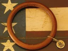 Native Leather Bangle -Natural-