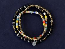 Triple Part Long Beads -Mix-