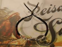 Silver & Disk Beads bracelet -First Contact-