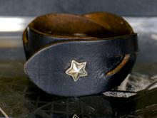 Hybrid Star Leather Bracelet