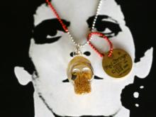 Stay Gold Necklace -Skull-