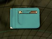 Money Clip Wallet -Sea Green-