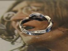 LET IT BE Stamped & Twisted Ring