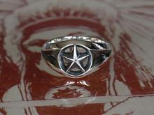 Triangle Wire Star Ring  -Narrow-