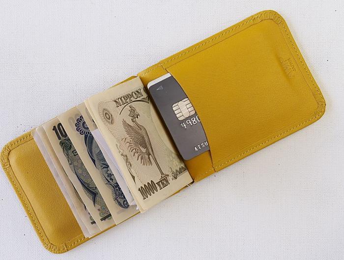 amp japan official web site money clip wallet amber