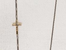 Fine Gold Cross Chain NC