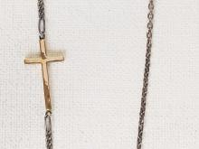 Gold Cross Chain NC