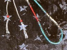 Native Pattern Necklace -Navajo-
