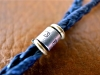 Braid Waxed Cord Bracelet -Arrow-