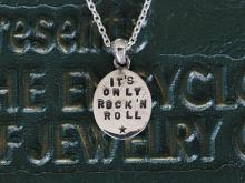 It's Only Rock'n Roll But I Like It Necklace