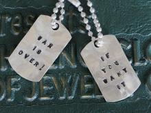War Is Over ! If You Want It Necklace