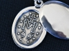 Silver Locket with K10Maria Necklace
