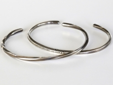 Twisted & Hammered Bangles