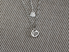 Hallmark Necklace -round pendant-