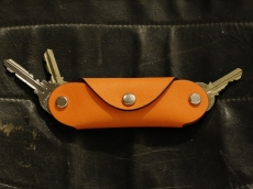 Slim Key Case_orange