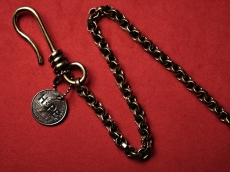 Round Wallet Chain w/HOPE Coin