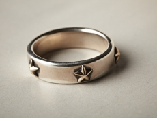 five star ring  -k10-