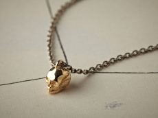 skull necklace -k10-