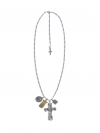 Large Cross with Silver Maria, Brass Crest
