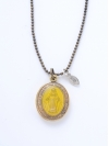 Color Mary Locket -YELLOW-