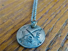 One Dime Coin Necklace