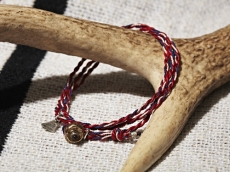 Yacht Rope Bracelet_RED