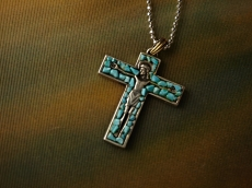 Jesus with Turquoise