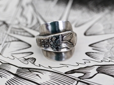 Spoon Ring -eagle-