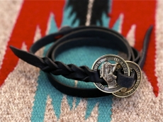 Naked Lady Coin Leather Bracelet